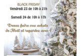 Invitation Portes Ouvertes Noël