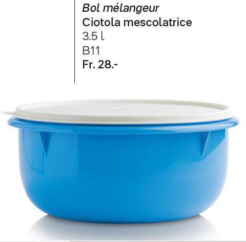 B11 Bol mélangeur 3,5 L à 28.00 francs