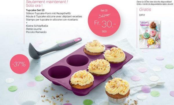S03 Tupcake-Set (2) à 30.00 francs