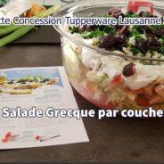 Fiche Recette – Salade Grecque par couches