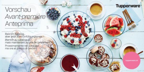 Image ambiance Bols Clear Tupperware - nouveauté du catalogue automne-hiver 2019-2020