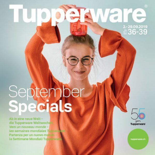 Offres Tupperware Suisse de septembre 2019
