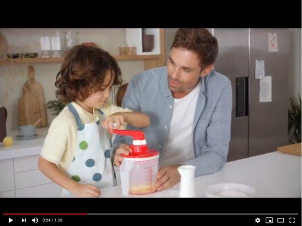 Vidéo pour l'utilisation du tout nouveau Easy Speedy Tupperware