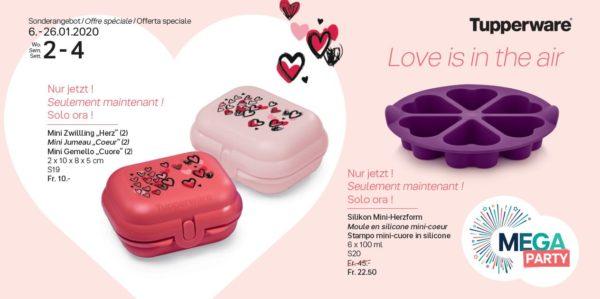 """Mini Jumeau """"Coeur"""" et Moule en silicone Mini coeurs"""