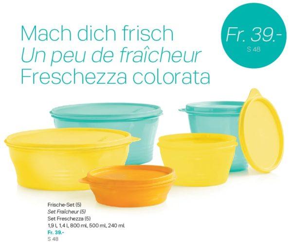 Offre spéciale Tupperware Suisse uniquement du 17 février au 1er mars 2020 - Set Bols Fraîcheur (5)