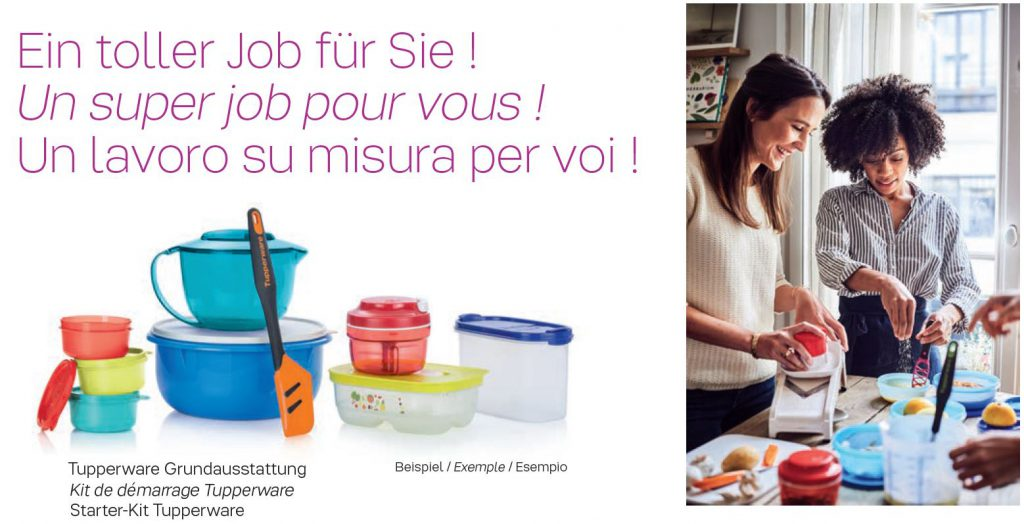 Kit de démarrage Tupperware