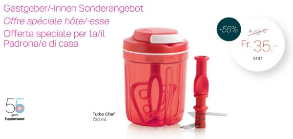 TurboChef 730 ml pour seulement 35.00