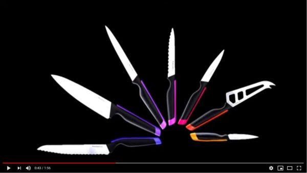 Vidéo de présentations des Couteaux  Universal Tupperware