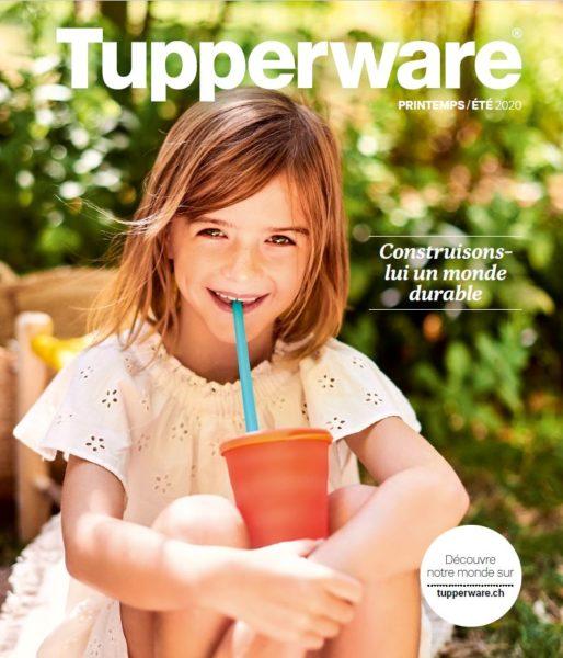 Catalogue Tupperware Suisse printemps-été 2020